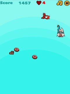 Jogue I eat Donuts online no Lejogos! Caia do céu e recolha quantos donuts puder, mas evite pássaros e outros obstáculos! Este jogo online gratuito combina ação ágil e é muito divertido!
