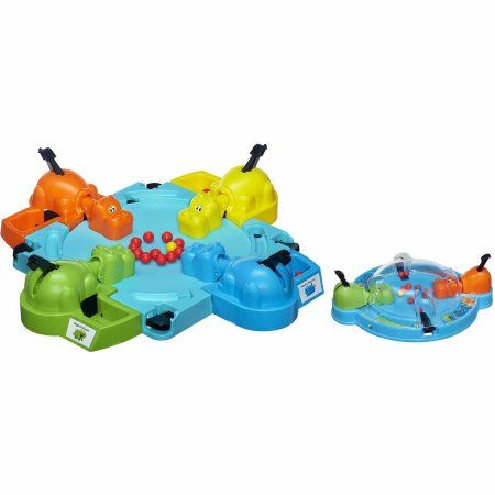 Elefun & Friends Hungry Hungry Hippos Game and Bonus Travel Hungry Hungry Hippos Game