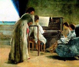 Le donne dei Macchiaioli « Giovanni Fattori e gli artisti macchiaioli - Pinterest