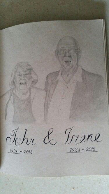 Granny & Grandpa together again by Noah Bissi