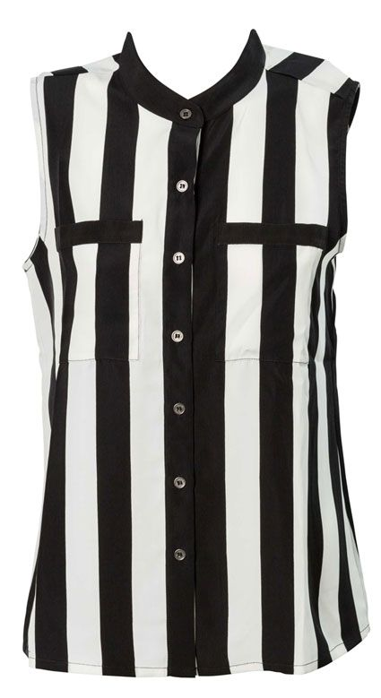 Farmers   Urban Precinct Striped Sleeveless Shirt   $44.99