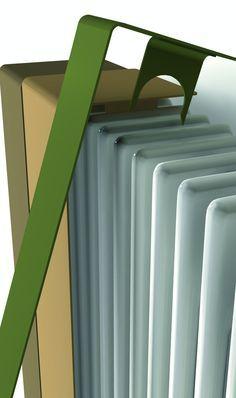Nuova vita ai termosifoni. Cover in lamina d'acciaio sottile che rinnova il tuo classico calorifero trasformandolo da elemento funzionale in un oggetto di