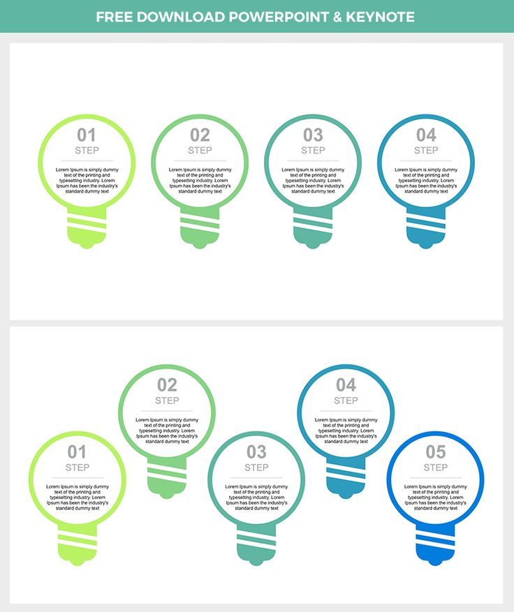 Download Free #infographic for PowerPoint and Keynote> For #PowerPoint #PPT https://goo.gl/sbQCaJ , for #Keynote #KEY https://goo.gl/qpxccQ . Full editable step by step #lamp or #idea infographic.