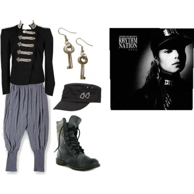janet jackson rhythm nation costume 2