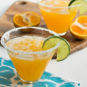 Tangerine spice Margarita.An old classic cocktail from Jamaica.Use 6 oz(180 ml) Martini or cocktail glass.