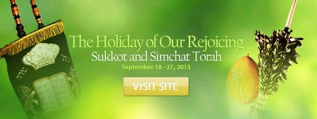 "Virtually everything you need to know about the holiday of Sukkot: How-To Guides, Sukkah and ""Four Kinds"" Wizards, Essays and Insights, Recipes, Stories, Multimedia, and much more!"