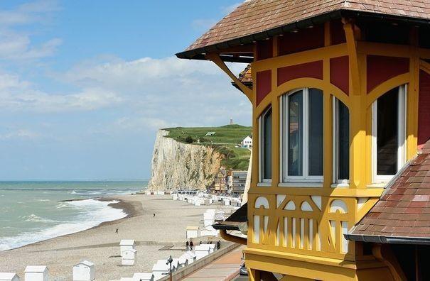 Mers-les-Bains, une station picarde à l'architecture Belle époque