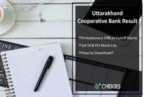 Uttarakhand District Cooperative Bank PO Result 2017