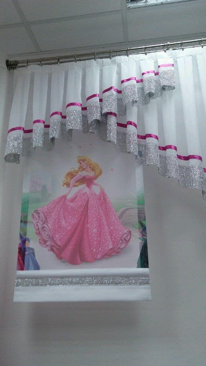 Firana Dla Dzieci Dla Dziewczynki Pokoj Dzieciecy Firana Ksiezniczka Curtains Living Room Curtain Designs Home Decor