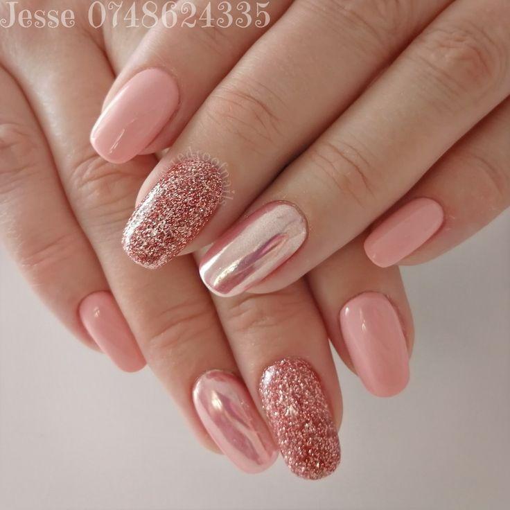 Acrylicnails Nailart Pintrest Instagram Flowers Pink Nails Pink Acrylic Nails Rose Gold Nails Acrylic Stylish Nails