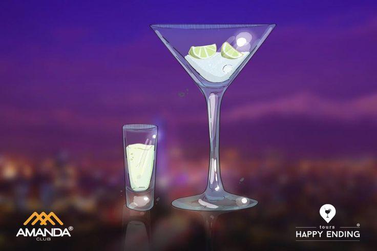 Parada obligada en cada uno de los tours de la #experienciahappyending✨  Club Amanda / Amanda.cl es uno de los mejores clubes de Santiago y junto a #happyendingtours te invita a disfrutar lo más exclusivo de la bohemia en #Santiago y a degustar los sabores más diversos de su gran carta de tragos.