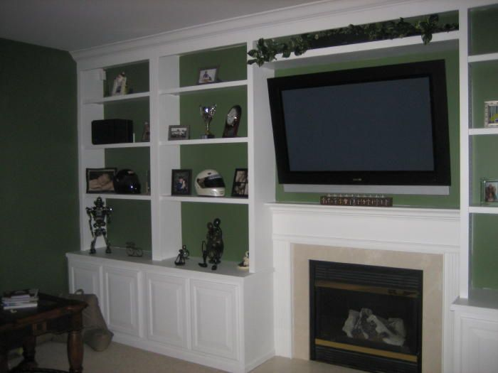 Bookshelves Beside Fireplace ~ Best images about built in bookshelves around fireplace