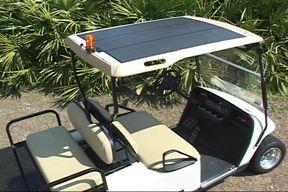 EZ-GO RXV Golf Cart Solar Tops
