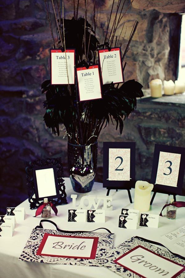 Elegant Gothic Wedding Inspiration
