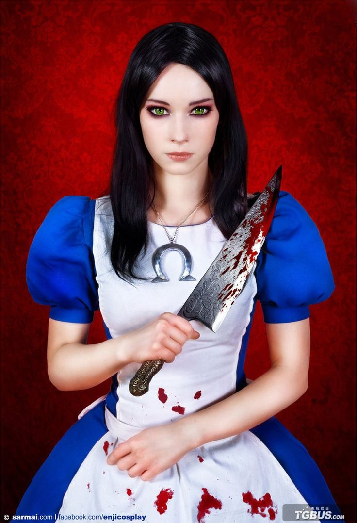 "Alice from Mcgee's Alice in wonderland. This is a pretty good list, but, I think #28 is actually the Suicide from ""13 Ghosts"""