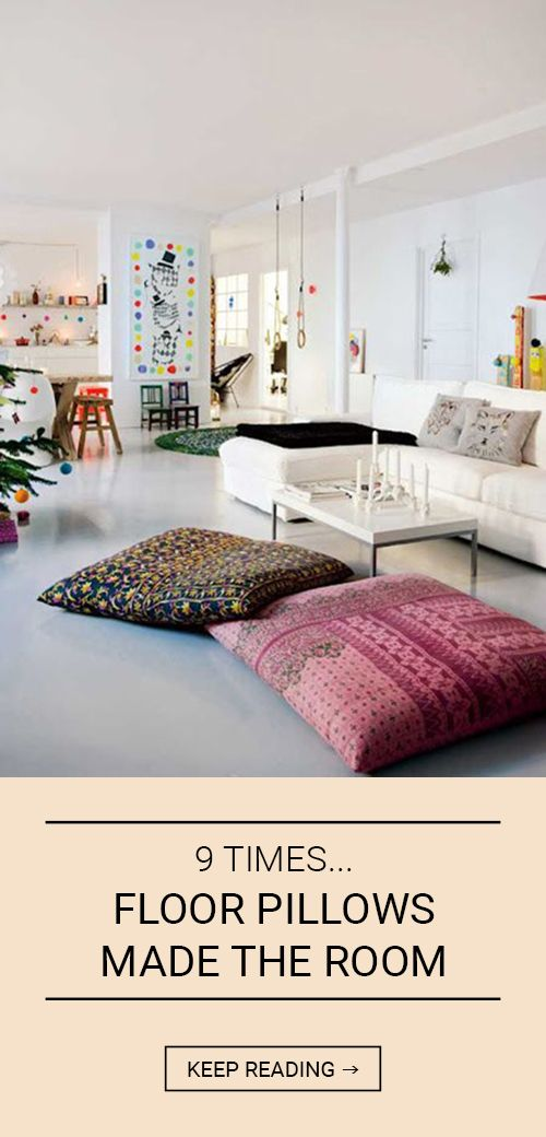 Oversized Pillows For The Floor : The 25+ best Oversized floor pillows ideas on Pinterest Oversized pillows, Giant floor ...