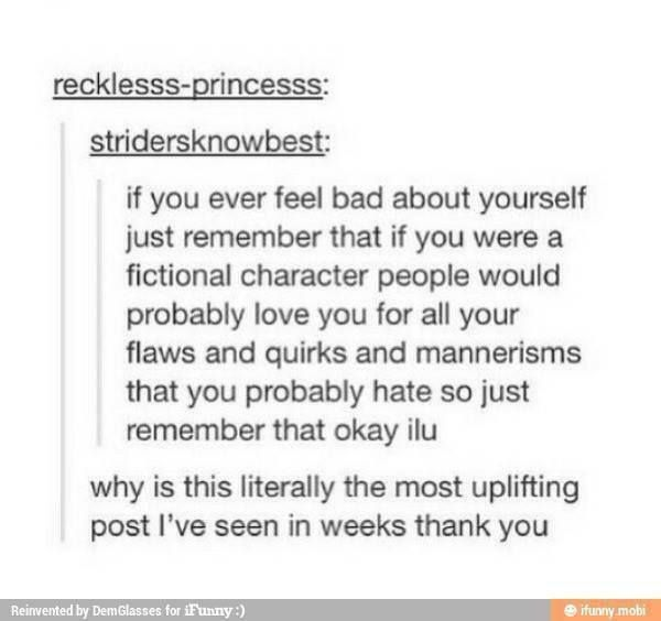 This is a very uplifting post.