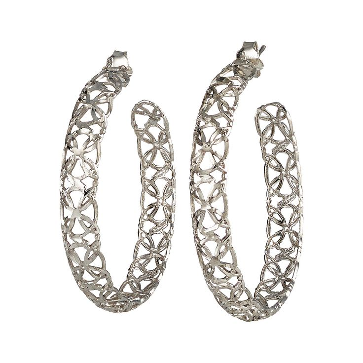 Oxette Silver 925 Earrings - Available here http://www.oxette.gr/kosmimata/skoularikia/st.silver-earrings-oxette-551l-1/   #oxette #OXETTEearrings #jewellery
