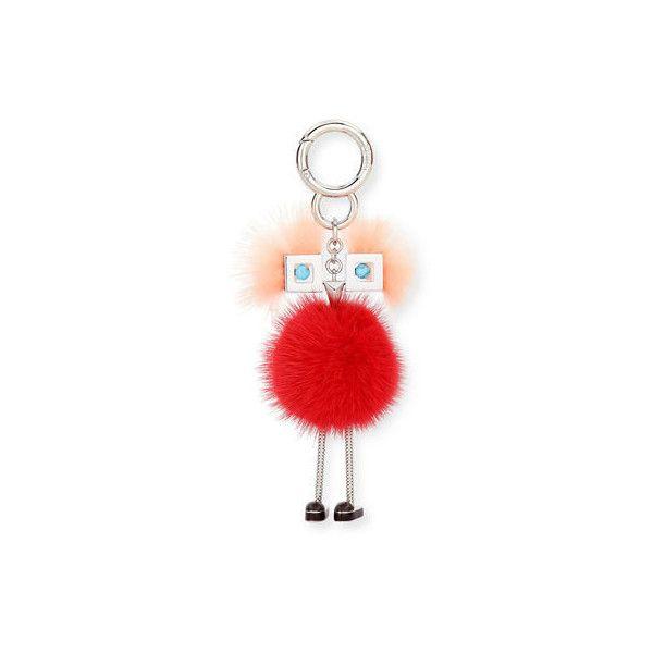 Fendi Mini Mink Pom Girl Charm for Handbag (1.750.910 COP) ❤ liked on Polyvore featuring bags, handbags, shoulder bags, red shoulder bag, purse shoulder bag, red shoulder handbags, red handbags and mini shoulder bag