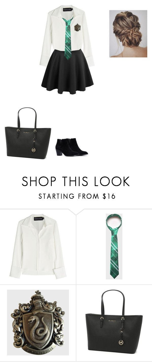 """""""::::"""" by idatherese04 on Polyvore featuring beauty, Brandon Maxwell and MICHAEL Michael Kors"""