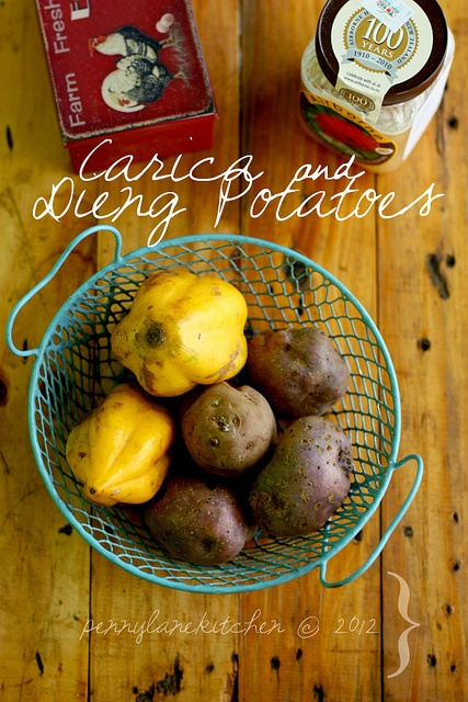 Carica and Dieng Potatoes