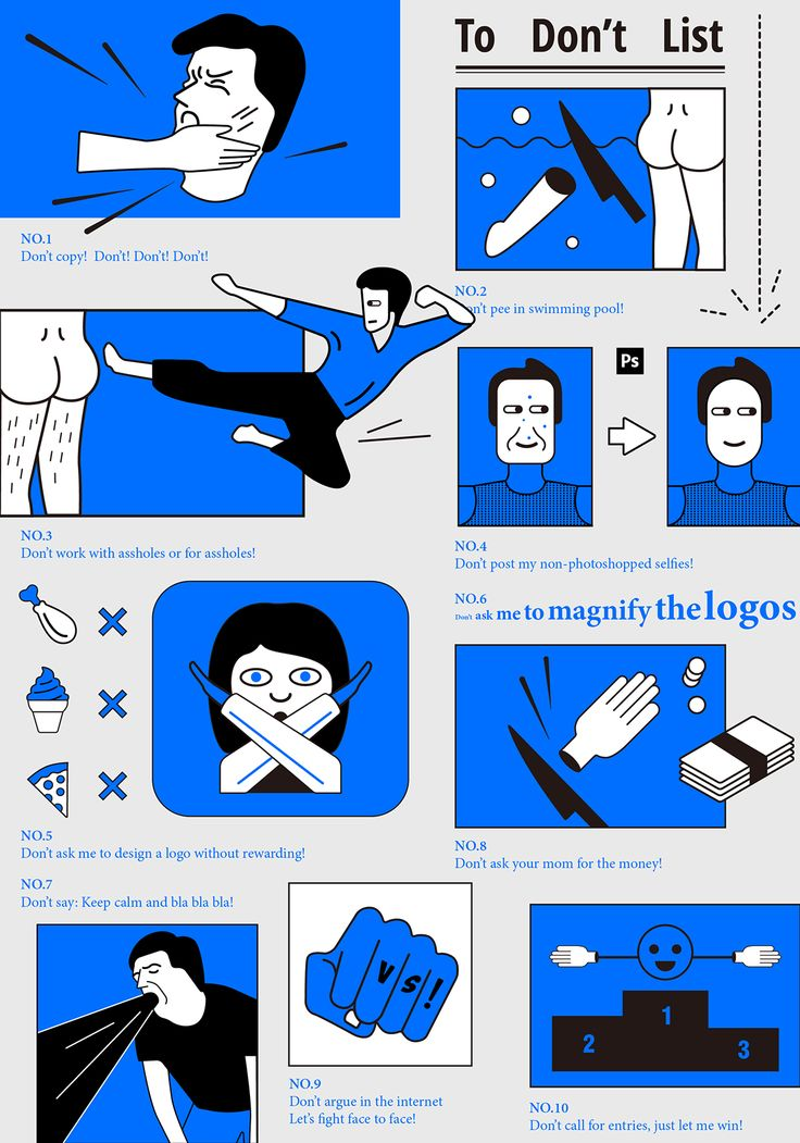 To Don't List on Behance