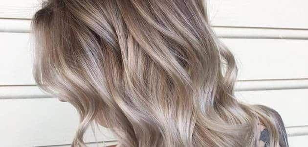 طريقة جديدة لصبغ الشعر لون أشقر رمادي الجديد Hair Long Hair Styles Hair Styles