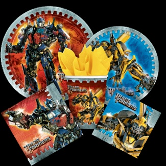 """Use coupon code """"TRANSFORMERS10 """" at checkout for an additional 10% off all Transformers Party Supplies!"""