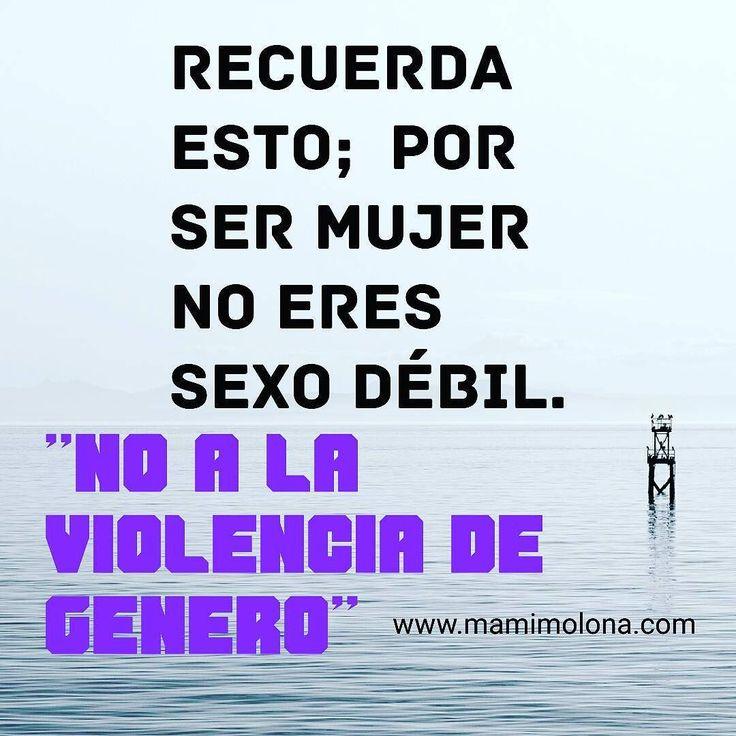 No a la violencia de género. #mamimolona #mama #bebé #supermama
