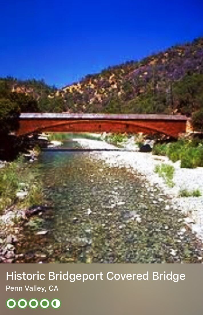 beautiful wedding places in northern california%0A South Yuba River State Park in Nevada County  California consists of the