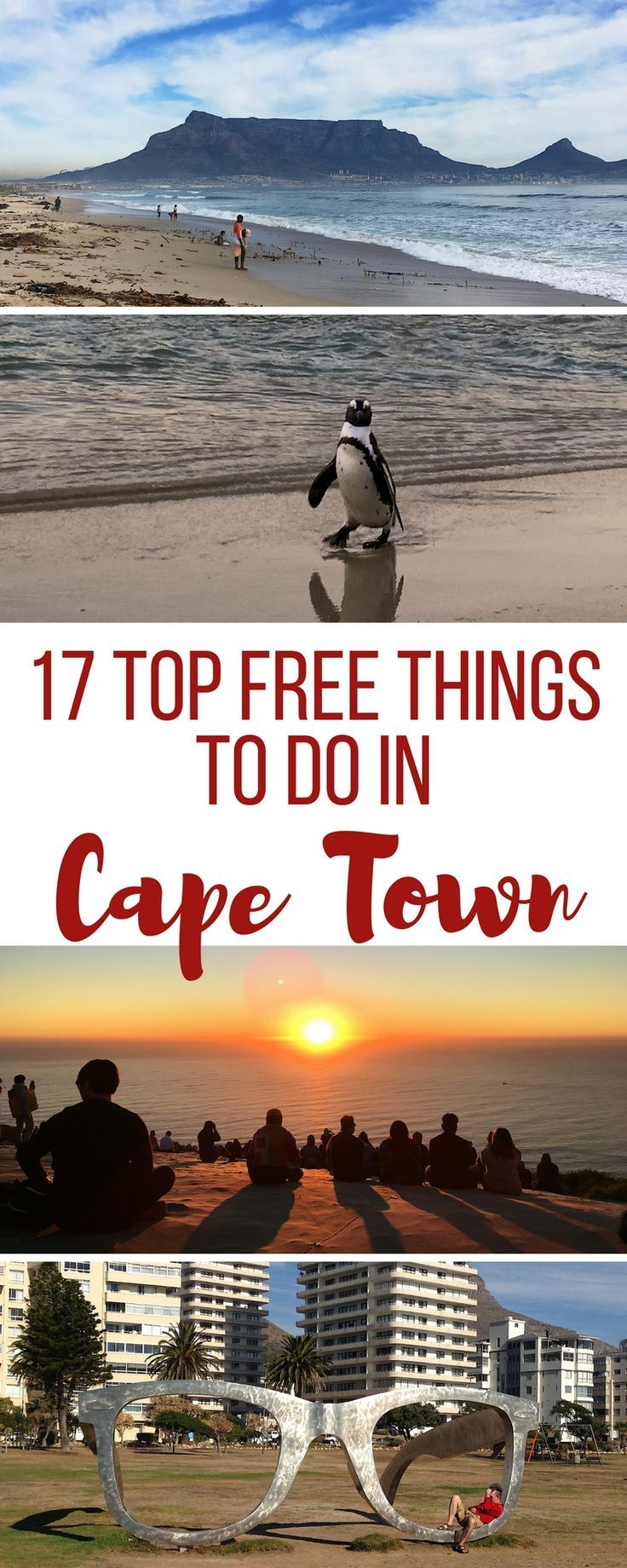 17 Top free things to do in Cape Town South Africa. Travel in Africa.