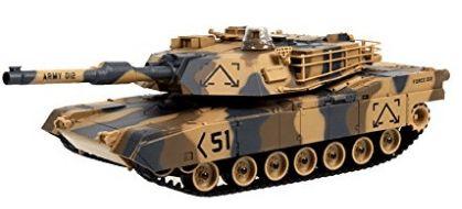 "M1A2 Abrams USA Battle Tank RC 16"" Airsoft Military Vechile - BestRC Tanks"