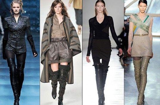 Женские ботфорты— дизайнеры вдохнули новую жизнь в когда-то популярную обувь 90-х