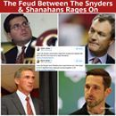 The Hatfield's, and the McCoy's haven't got shit on this one. Also I guarantee you that neither of those clans has spent as much money in that famous fight as Dan Snyder has, and it's been going on way, way, longer. What I'm finding amusing is, what I think the Kirk Cousins camp is doing.  I'm thinking Kirk may bear some allegiance toward Shanahan, for being the reason he was picked up in the draft. Also it could be that Cousins has never really been fond of Dan Snyder to begin with. His…