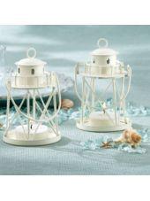 White Lighthouse Tea Light Holder Wedding Favor-Party City