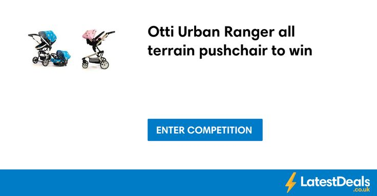 Otti Urban Ranger all terrain pushchair to win