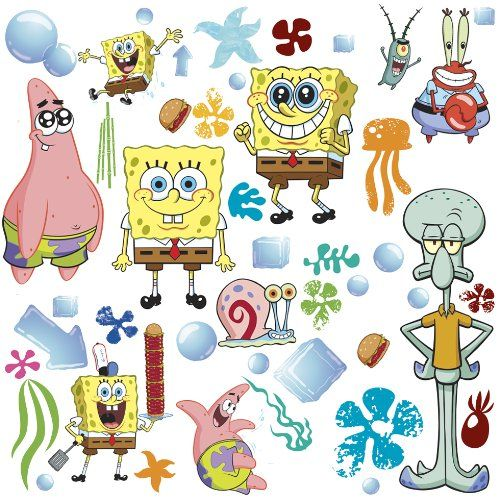 Best Spongebob Room Images On Pinterest - Spongebob room decals
