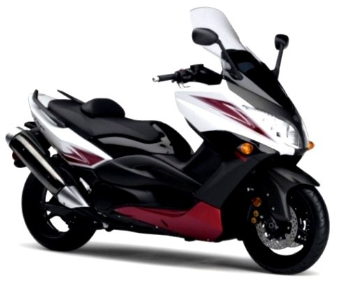 2011 Yamaha TMAX 500 Black Red White Picture