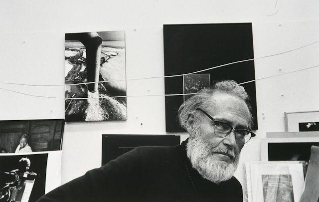 W. Eugene Smith, 1977 © Arnold Newman