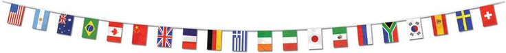 International Flag Pennant Banner - All-Weather #83775 - 12 Units