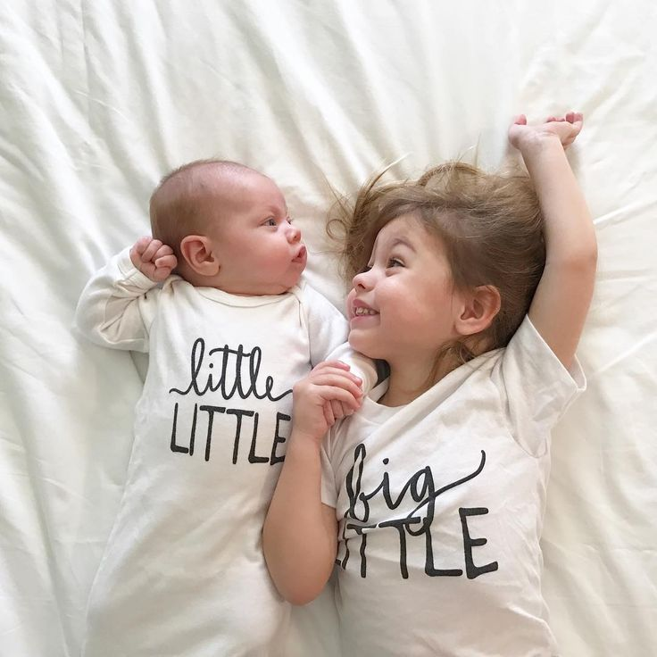 Little Faces Apparel matching sibling outfits - Big little, big sister or big brother tee and little little baby gown. newborn outfits, baby announcement, big sister announcement.