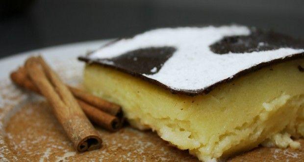 γαλατόπιτα χωρίς φύλλο από την Αρκαδία - Pandespani.com