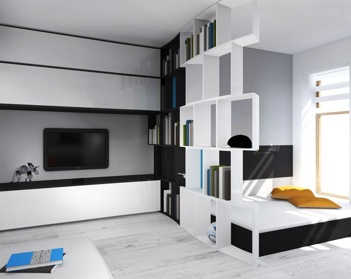 [ teen ] boys room need to be as multi-functional as possible in the amount of space available