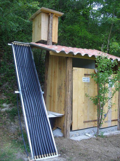 Faire soi-même une douche solaire