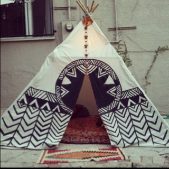 : For Kids, Pattern, Tent, Camps, Reading Nooks, House, Backyard, Native American, Kids Rooms