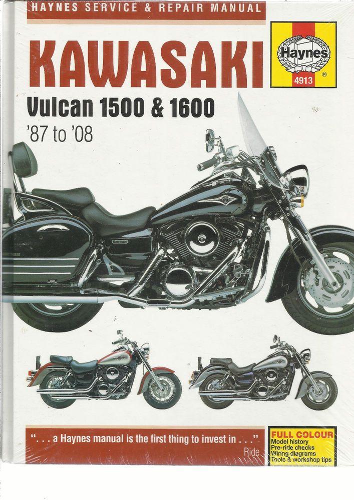 Haynes Kawasaki NEW SEALED Vulcan 1500 1600 Classic Mean Streak