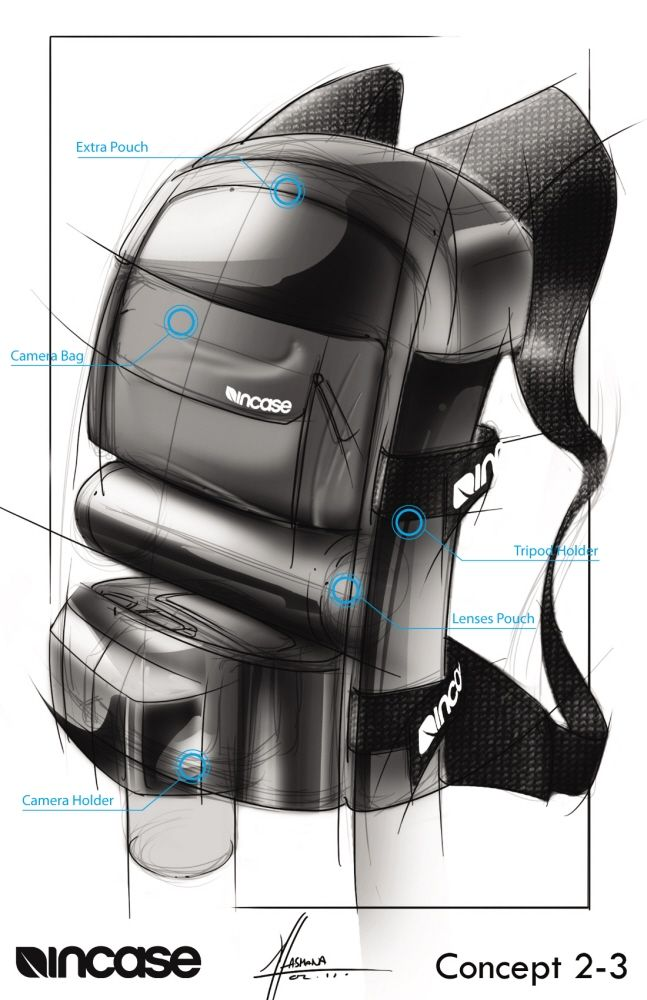 Product Sketches by Alvin Lasmana at Coroflot.com