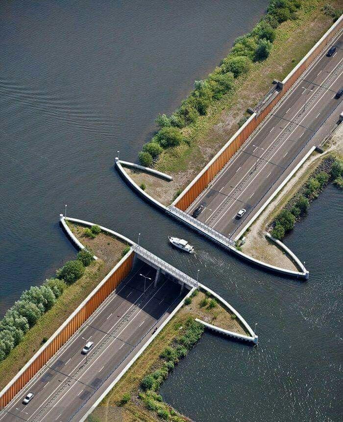 Water underpass