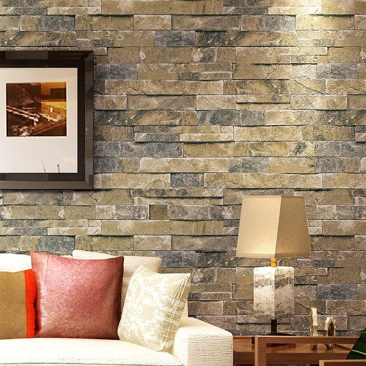 17 Best Ideas About Brick Wallpaper Bedroom On Pinterest