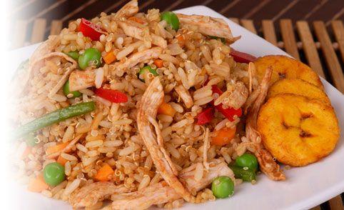 Receta de Chaulafán de quinua y arroz - PRONACA